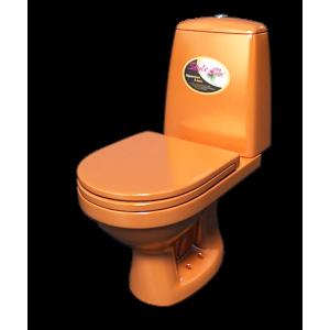 Компактный унитаз Style 1215 (770х680х370) оранжевый