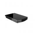 Сиденье крышка для унитаза Arcus Моноблок 050 black ( дюропласт) черное