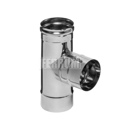 Тройники для дымохода 430 (0,5 мм)